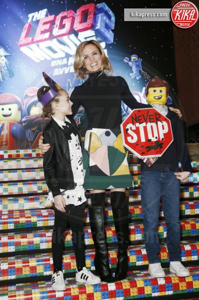 Justine Mattera - Milano - 17-02-2019 - Melissa Satta, eterna bambina alla première di The Lego Movie 2