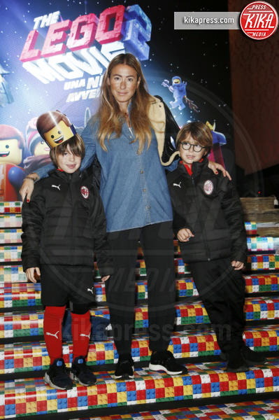 Milano - 17-02-2019 - Melissa Satta, eterna bambina alla première di The Lego Movie 2