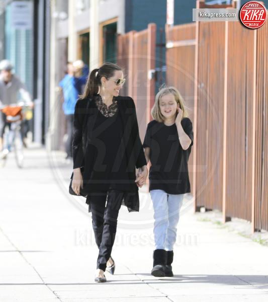 Vivienne Jolie Pitt, Angelina Jolie - Los Angeles - 17-02-2019 - Mentre Brad pensa all'ex Aniston,  Angelina solo ai loro figli