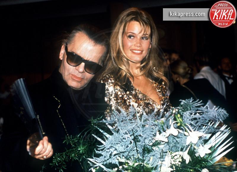 Claudia Schiffer, Karl Lagerfeld - 12-12-1991 - Karl Lagerfeld, ecco le sue ultime volontà