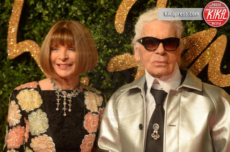 Karl Lagerfeld, Anna Wintour - Londra - 23-11-2015 - Karl Lagerfeld, ecco le sue ultime volontà