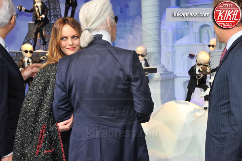 Karl Lagerfeld, Vanessa Paradis - Parigi - 09-11-2011 - Karl Lagerfeld, ecco le sue ultime volontà