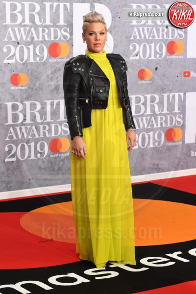 Pink - Londra - 20-02-2019 - Brit Awards 2019: Dua Lipa talento e bellezza da vendere