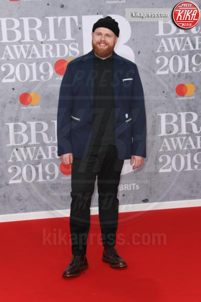 Tom Walker - Londra - 20-02-2019 - Brit Awards 2019: Dua Lipa talento e bellezza da vendere