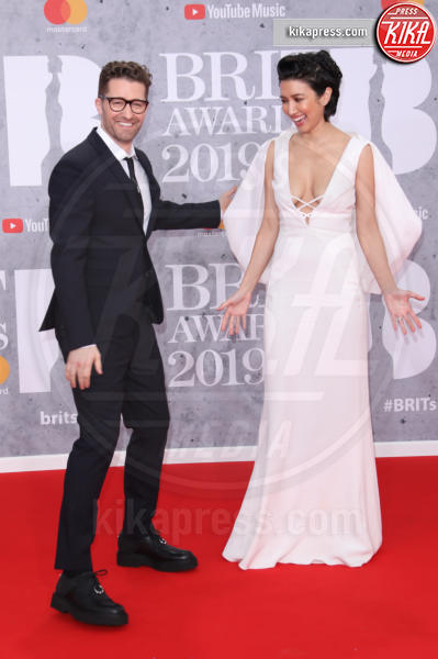 Renee Puente, Matthew Morrison - Londra - 20-02-2019 - Brit Awards 2019: Dua Lipa talento e bellezza da vendere