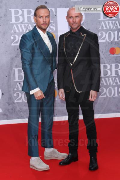 Bros, Matt Goss, Luke Goss - Londra - 20-02-2019 - Brit Awards 2019: Dua Lipa talento e bellezza da vendere