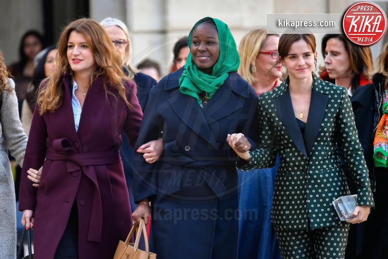 Marlene Schiappa, Emma Watson - Parigi - 19-02-2019 - Emma Watson e Macron, la svolta politica della strega Hermione