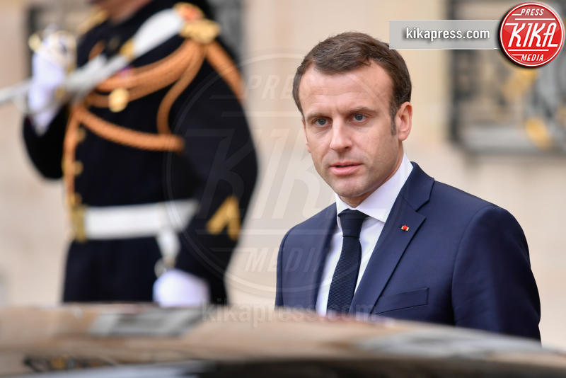 Emmanuel Macron - Parigi - 19-02-2019 - Emma Watson e Macron, la svolta politica della strega Hermione