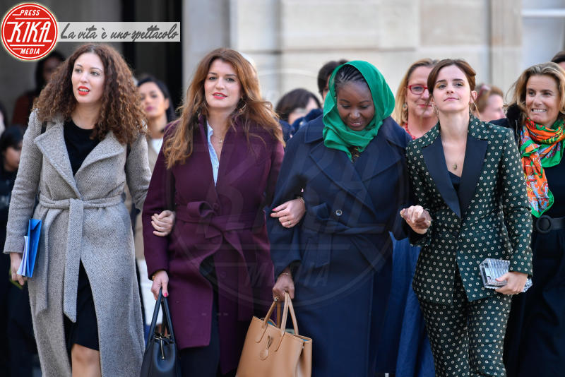 Marlene Schiappa, Emma Watson - Parigi - 19-02-2019 - Emma Watson a un passo dai trenta! Auguri Hermione