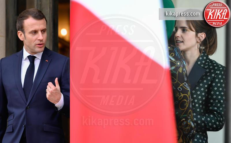 Emmanuel Macron, Emma Watson - 21-02-2019 - Emma Watson e Macron, la svolta politica della strega Hermione