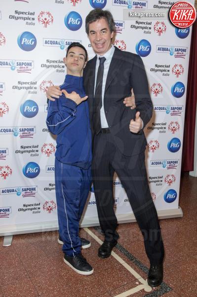 Lorenzo Congiu, Angelo Moratti - Milano - 21-02-2019 - Valentina Vezzali testimonial di #ioadottouncampione