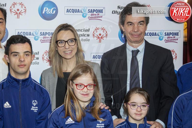 Angelo Moratti, Valentina Vezzali - Milano - 21-02-2019 - Valentina Vezzali testimonial di #ioadottouncampione