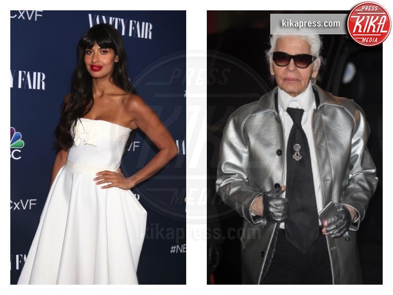 Jameela Jamil, Karl Lagerfeld - Los Angeles - 21-02-2019 - Jameela Jamil contro Lagerfeld: