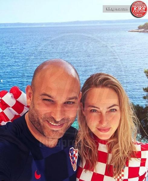 Davor Luksic, Cristel Carrisi - Milano - 21-02-2019 - Cristel Carrisi è di nuovo incinta! Al Bano ancora nonno
