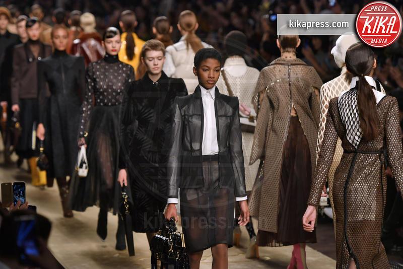 Milano - 21-02-2019 - Milano Fashion Week: la sfilata di Fendi è dedicata a Lagerfeld