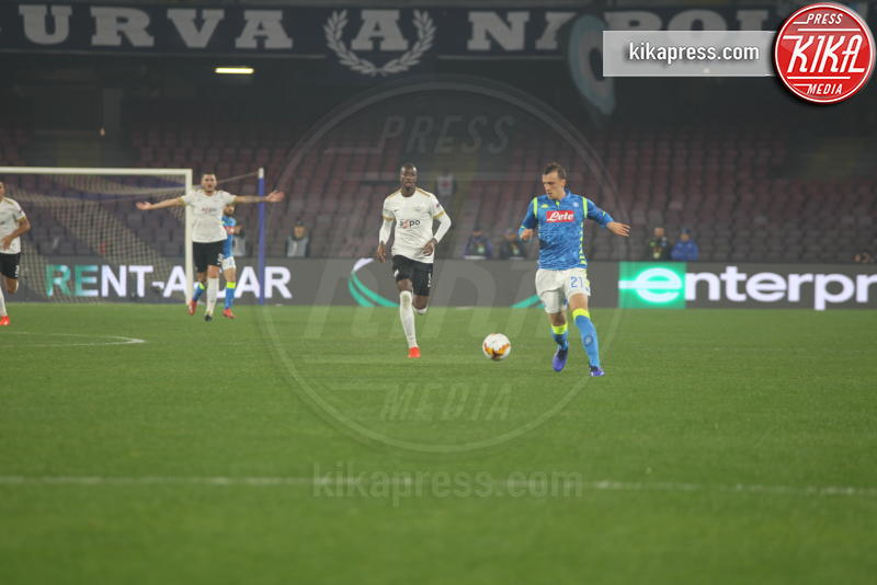 Vlad Chiriches - Napoli - 21-02-2019 - Europa League: il Napoli batte 2-0 lo Zurigo e va agli Ottavi
