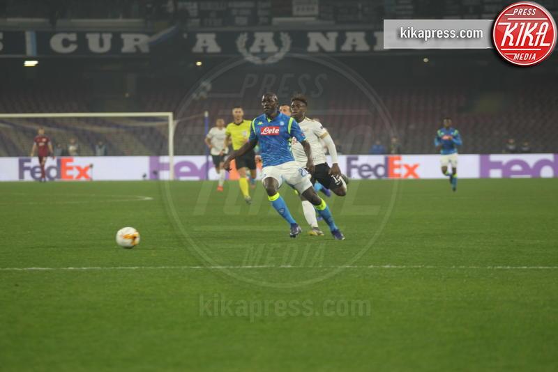 Kalidou Koulibaly - Napoli - 21-02-2019 - Europa League: il Napoli batte 2-0 lo Zurigo e va agli Ottavi