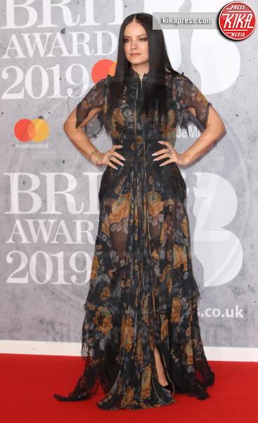 Lily Allen - Londra - 20-02-2019 - Brit Awards 2019: Dua Lipa talento e bellezza da vendere