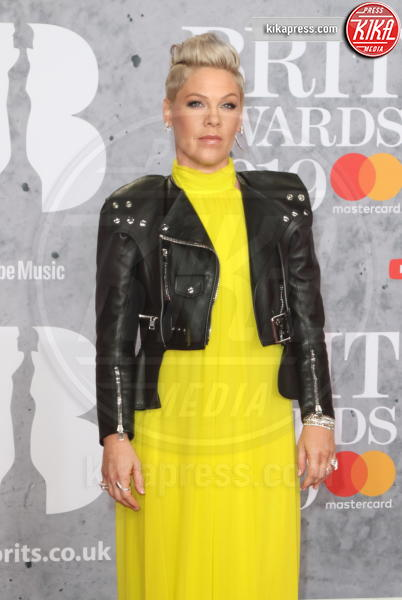 P!nk - Londra - 20-02-2019 - Brit Awards 2019: Dua Lipa talento e bellezza da vendere