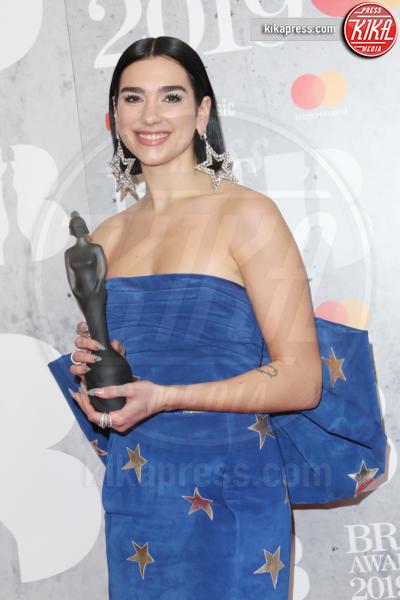 Dua Lipa - Londra - 20-02-2019 - Brit Awards 2019: Dua Lipa talento e bellezza da vendere