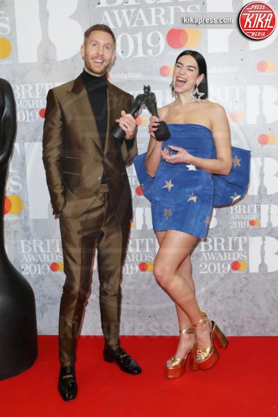 Dua Lipa, Calvin Harris - Londra - 20-02-2019 - Brit Awards 2019: Dua Lipa talento e bellezza da vendere