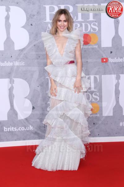 Suki Waterhouse - Londra - 20-02-2019 - Brit Awards 2019: Dua Lipa talento e bellezza da vendere