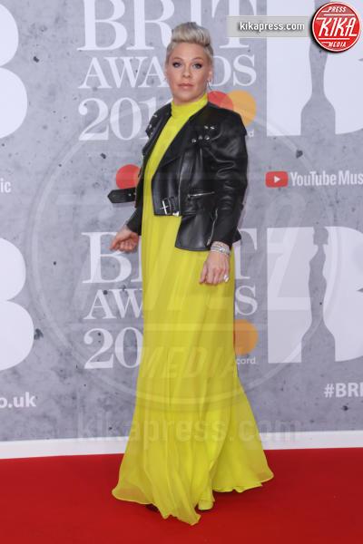 Pink Alecia Moore - Londra - 20-02-2019 - Brit Awards 2019: Dua Lipa talento e bellezza da vendere