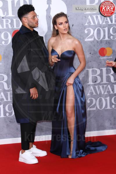 Alex Oxlade-Chamberlain, Perrie Edwards - Londra - 20-02-2019 - Brit Awards 2019: Dua Lipa talento e bellezza da vendere