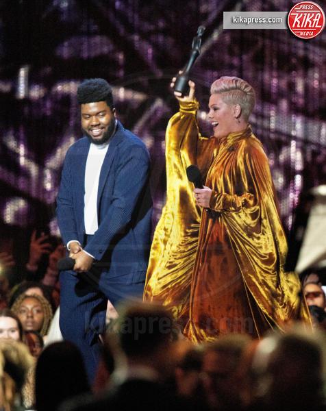 Khalid, Pink - Londra - 21-02-2019 - Brit Awards 2019: Dua Lipa talento e bellezza da vendere