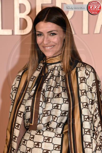 Cristina Chiabotto - Milano - 20-02-2019 - Ferragni alla sfilata di Alberta Ferretti, ma l'outfit è copiato