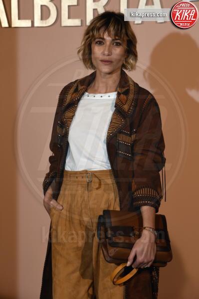 Anna Foglietta - Milano - 20-02-2019 - Ferragni alla sfilata di Alberta Ferretti, ma l'outfit è copiato