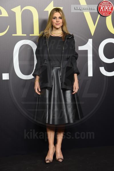 Nicoletta Romanoff - Milano - 20-02-2019 - MFW: Valeria Golino, stile in... pigiama alla sfilata Moncler!
