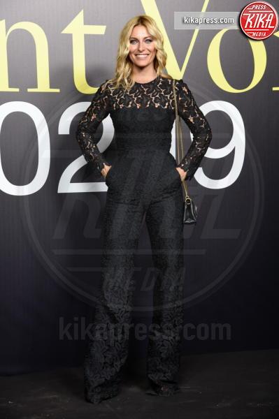 Federica Fontana - Milano - 20-02-2019 - MFW: Valeria Golino, stile in... pigiama alla sfilata Moncler!