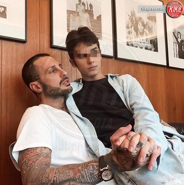 Carlos Corona, Fabrizio Corona - Milano - 22-02-2019 - Tra le scuse di Corona alla D'Urso, interviene Balotelli