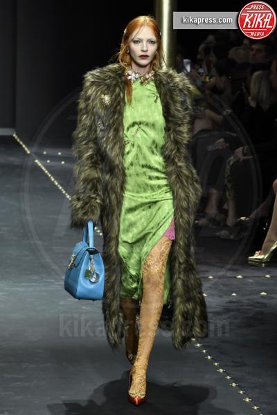 Maria Carla Boscono, Modella - Milano - 23-02-2019 - Milano Fashion Week: la sfilata di Versace