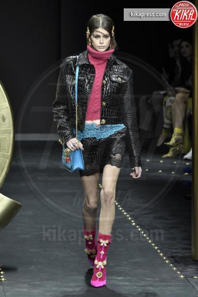 Kaia Gerber, Modella - Milano - 23-02-2019 - Milano Fashion Week: la sfilata di Versace