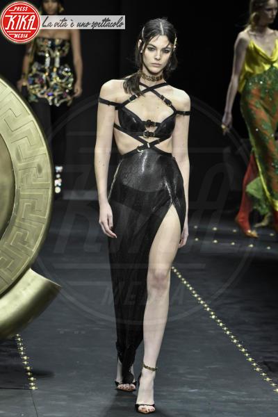 Vittoria Ceretti, Modella - Milano - 23-02-2019 - Milano Fashion Week: la sfilata di Versace