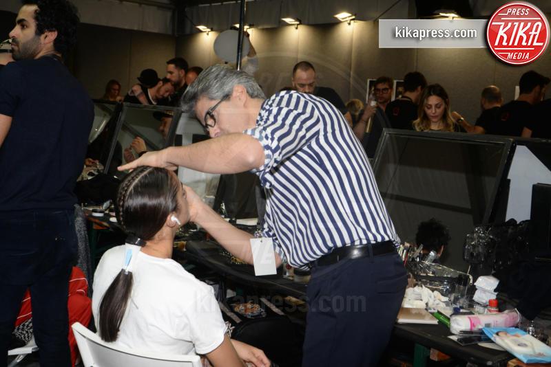Ospite - Milano - 23-02-2019 - Simona Ventura e Giovanni Terzi, due piccioncini in prima fila