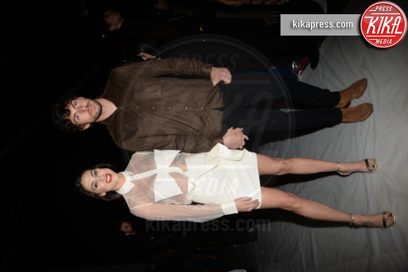 Ignazio Moser, Cecilia Rodriguez - Milano - 23-02-2019 - Simona Ventura e Giovanni Terzi, due piccioncini in prima fila