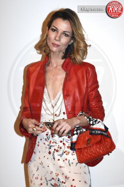 Roberta Ruiu - Milano - 24-02-2019 - MFW: Ambra con la figlia Jolanda da Ermanno Scervino