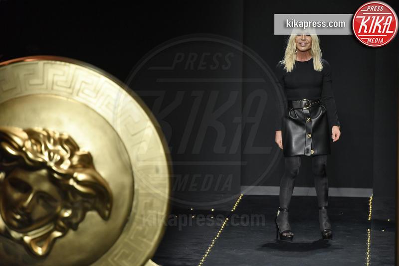 Donatella Versace - Milano - 22-02-2019 - Milano Fashion Week: la sfilata di Versace