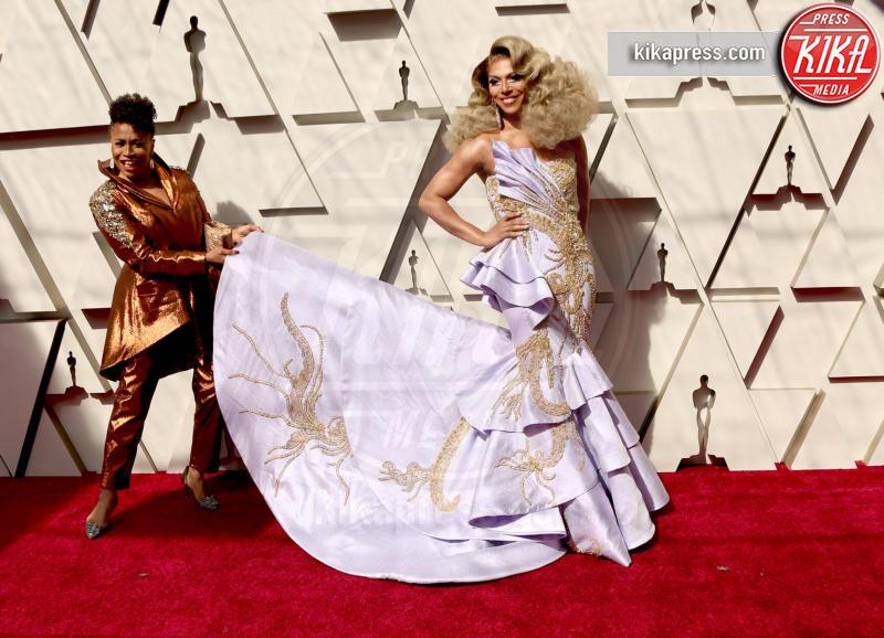 Shangela, Jenifer Lewis - Los Angeles - 24-02-2019 - Oscar 2019: gli arrivi sul red carpet