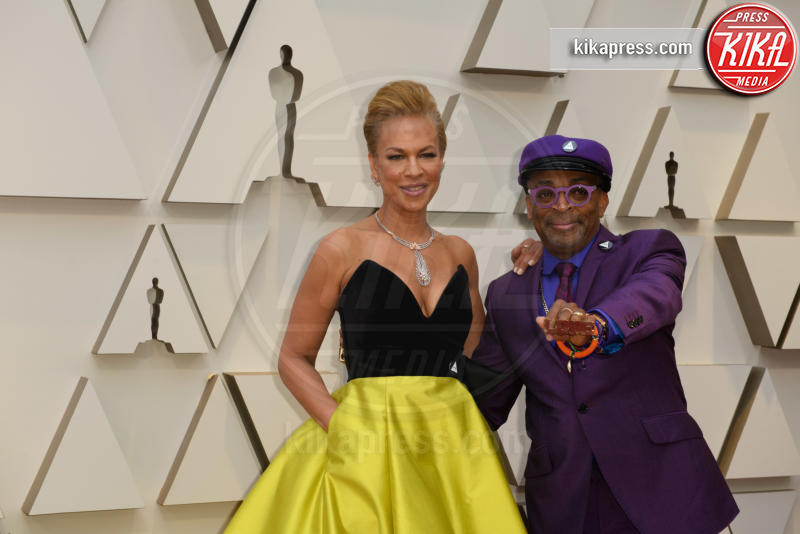 Tonya Lewis, Spike Lee - Hollywood - 24-02-2019 - Oscar 2019: le coppie sul red carpet