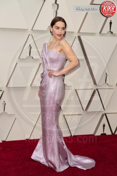 Emilia Clarke - Hollywood - 24-02-2019 - Oscar 2019: gli arrivi sul red carpet