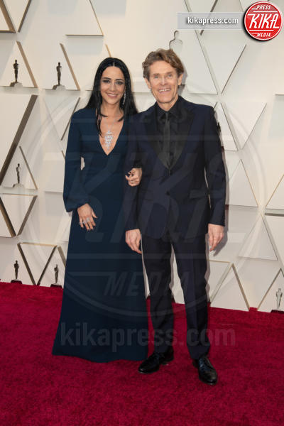 Giada Colagrande, Willem Dafoe - Hollywood - 24-02-2019 - Oscar 2019: le coppie sul red carpet