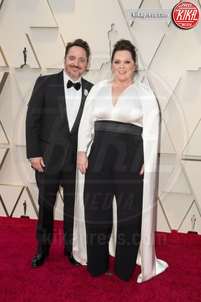 Ben Falcone, Melissa McCarthy - Hollywood - 24-02-2019 - Oscar 2019: le coppie sul red carpet