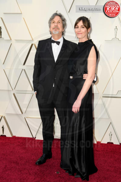 Melinda Farrelly, Peter Farrelly - Hollywood - 24-02-2019 - Oscar 2019: le coppie sul red carpet