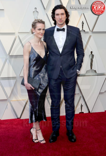 Joanne Tucker, Adam Driver - Los Angeles - 24-02-2019 - Oscar 2019: le coppie sul red carpet