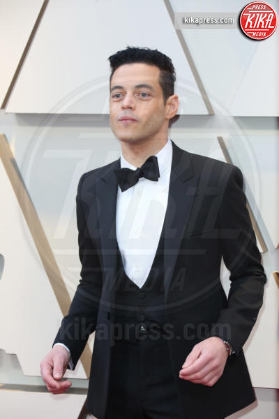 Rami Malek - Los Angeles - 24-02-2019 - Oscar 2019: gli arrivi sul red carpet