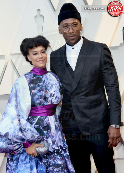 Amatus Sami-Karim, Mahershala Ali - Los Angeles - 24-02-2019 - Oscar 2019: le coppie sul red carpet